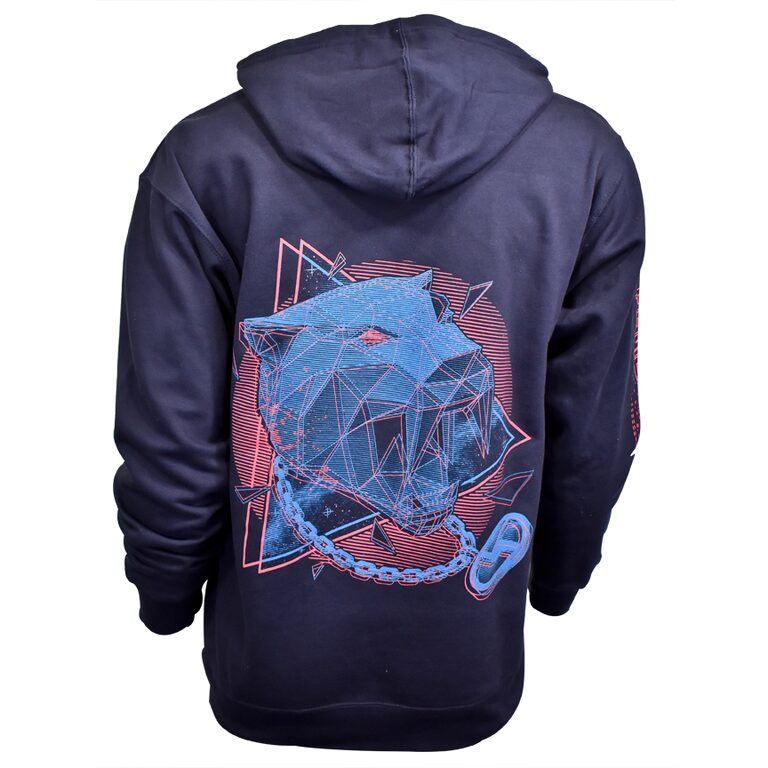 disco biscuits panther hoodie back