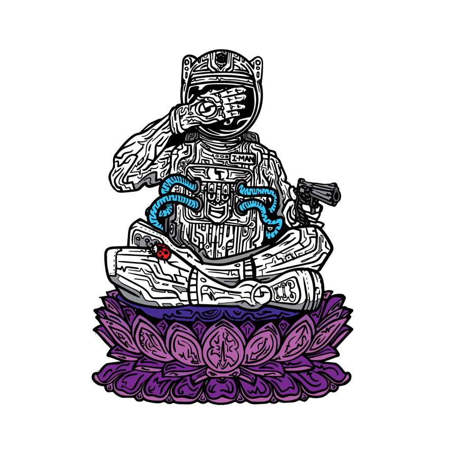 DB Couch Tour Pin – Astronaut