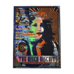 Disco Biscuits 2019 Ogden Theatre Foil Poster Nate Duval