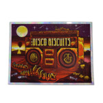 Disco Biscuits 2019 Red Rocks Foil Poster Jim Mazza