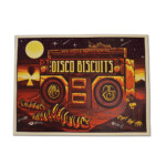 Disco Biscuits 2019 Red Rocks Poster Jim Mazza