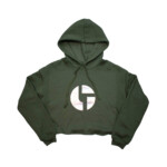 Disco Biscuits- Women's Hoodie – 7502 Military Green