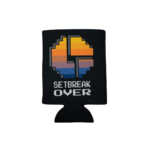 Disco biscuits- setbreak over koozie black- front