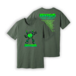 Disco Biscuits Virtual Tour Heather Military Green