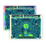 Disco Biscuits Virtual Tour Paper and Foil Poster