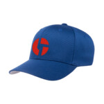 Disco Biscuits Logo Flexfit Royal Red Front