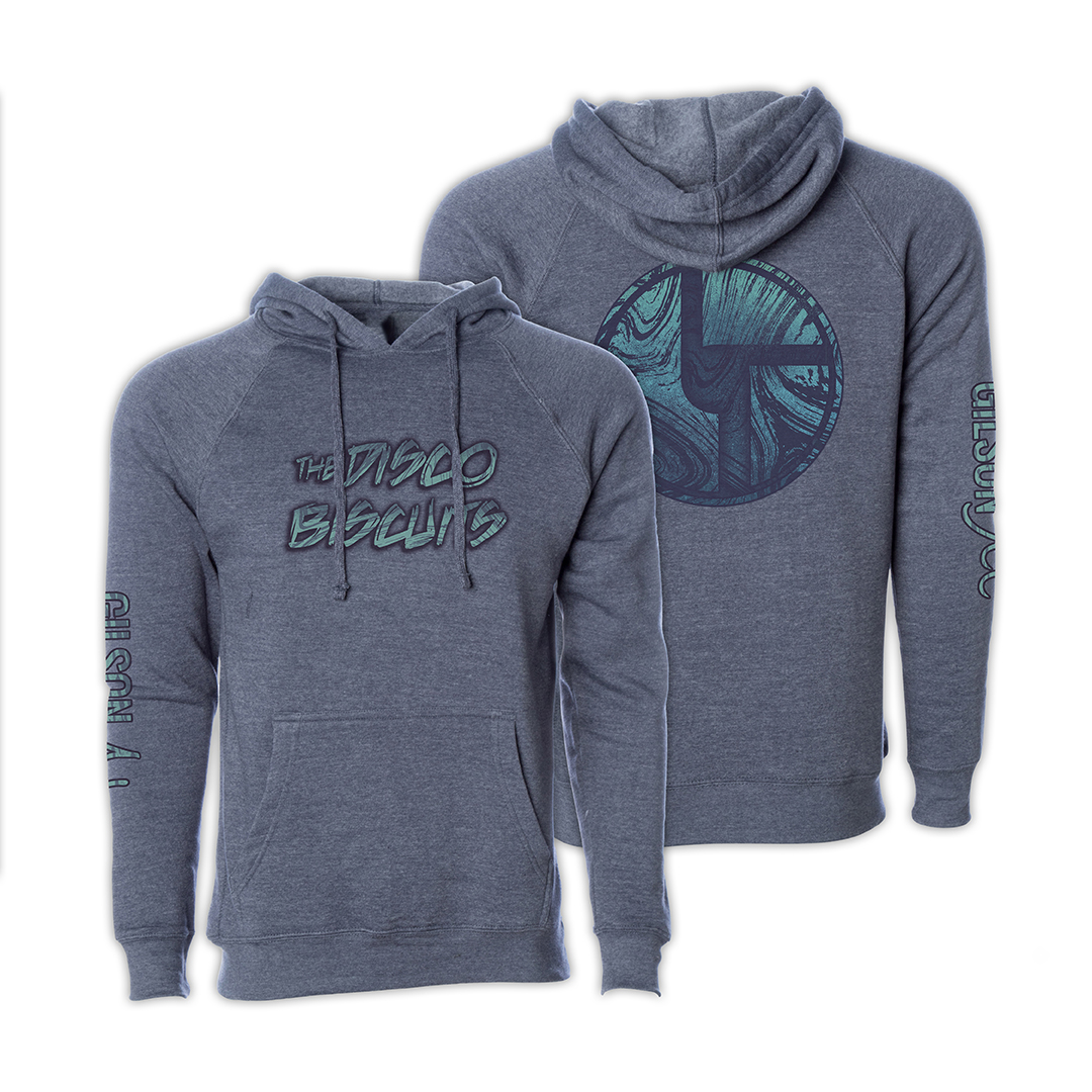 Disco Biscuits x Gilson Logo Navy Pullover Hoodie