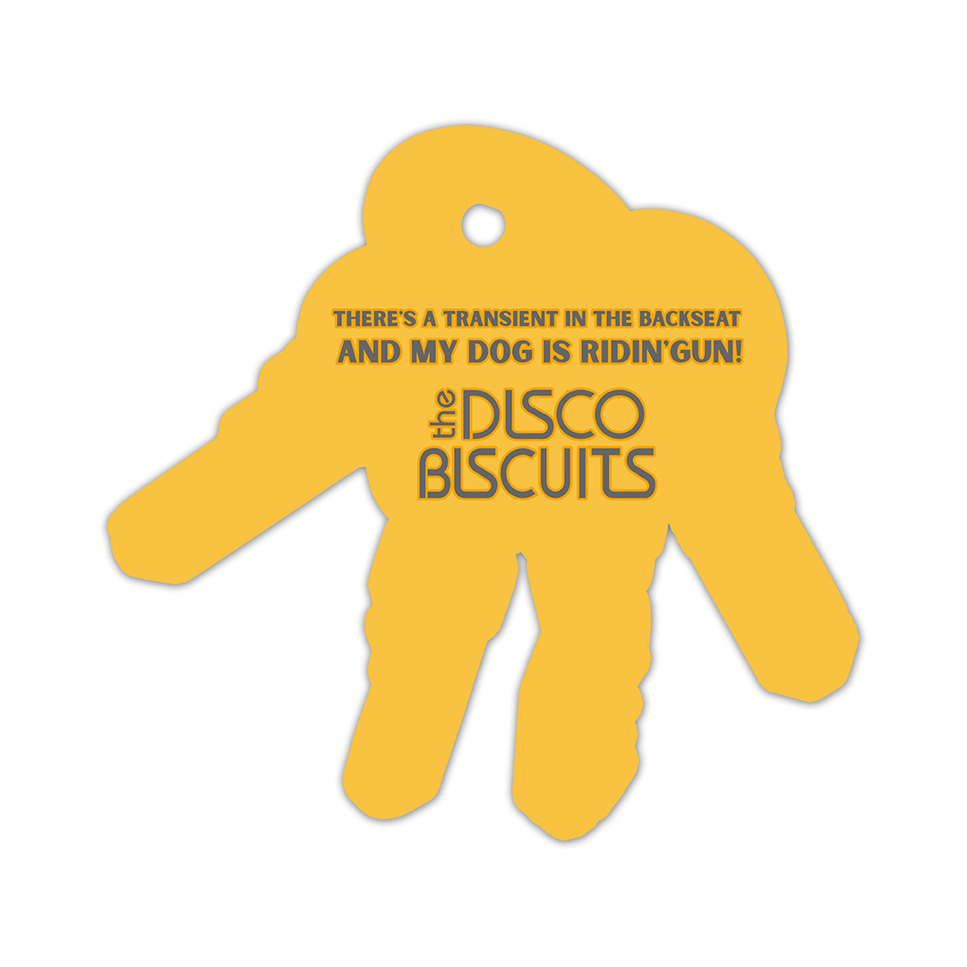 The Disco Biscuits Biscuits Keychain Air Freshener Back