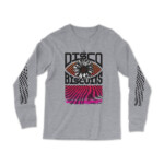 The Disco Biscuits Scranton Event Longsleeve T-shirt Grey Front