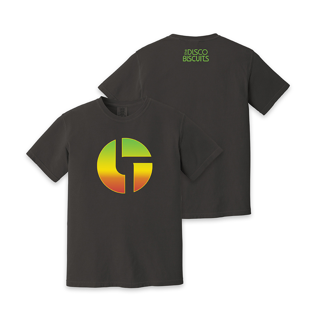 Gradient Logo Black Unisex Shirt