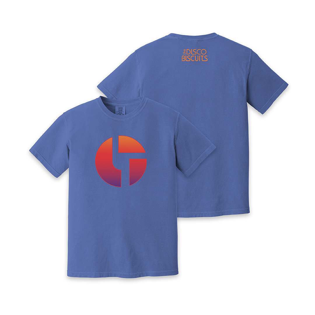 Gradient Logo Blue Unisex Shirt