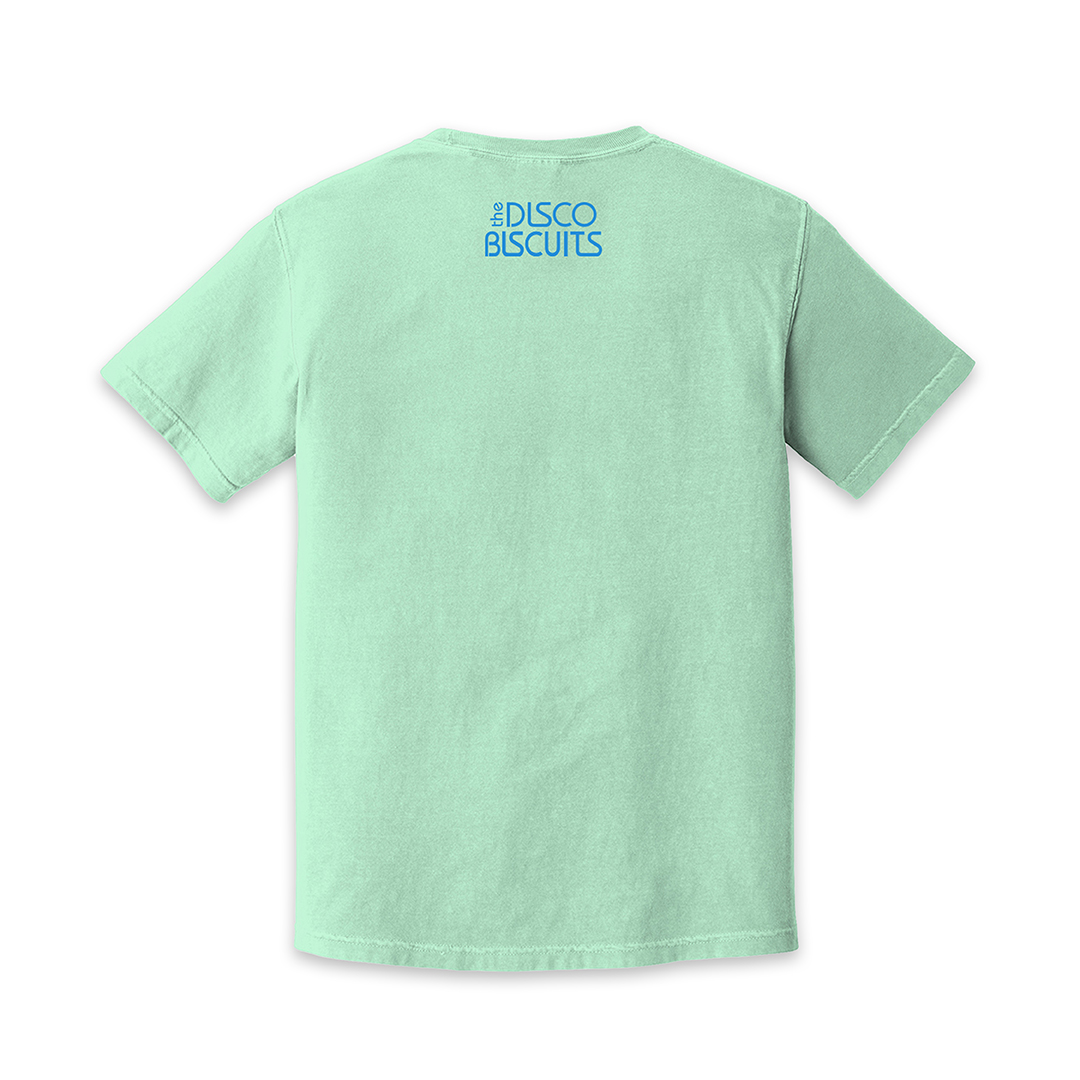 Gradient Logo Island Reef Unisex Shirt Back