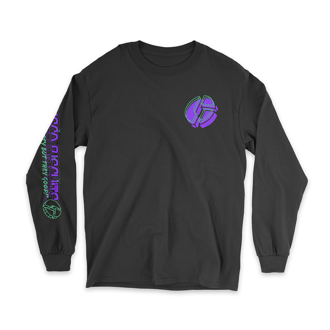 Hope Unisex Long Sleeve Black Front