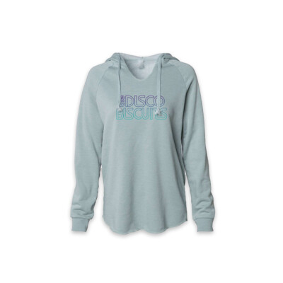 Ladies Logo Wave Wash Style Sage Pullover