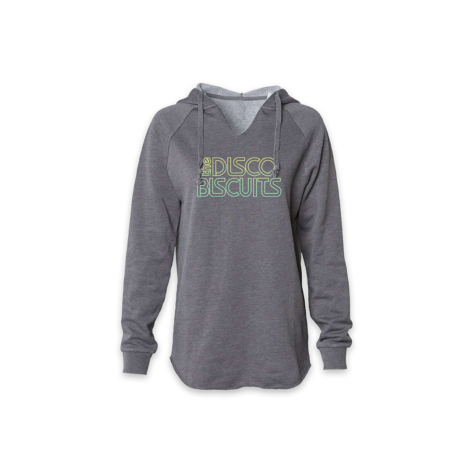 Ladies Logo Wave Wash Style Shadow Pullover