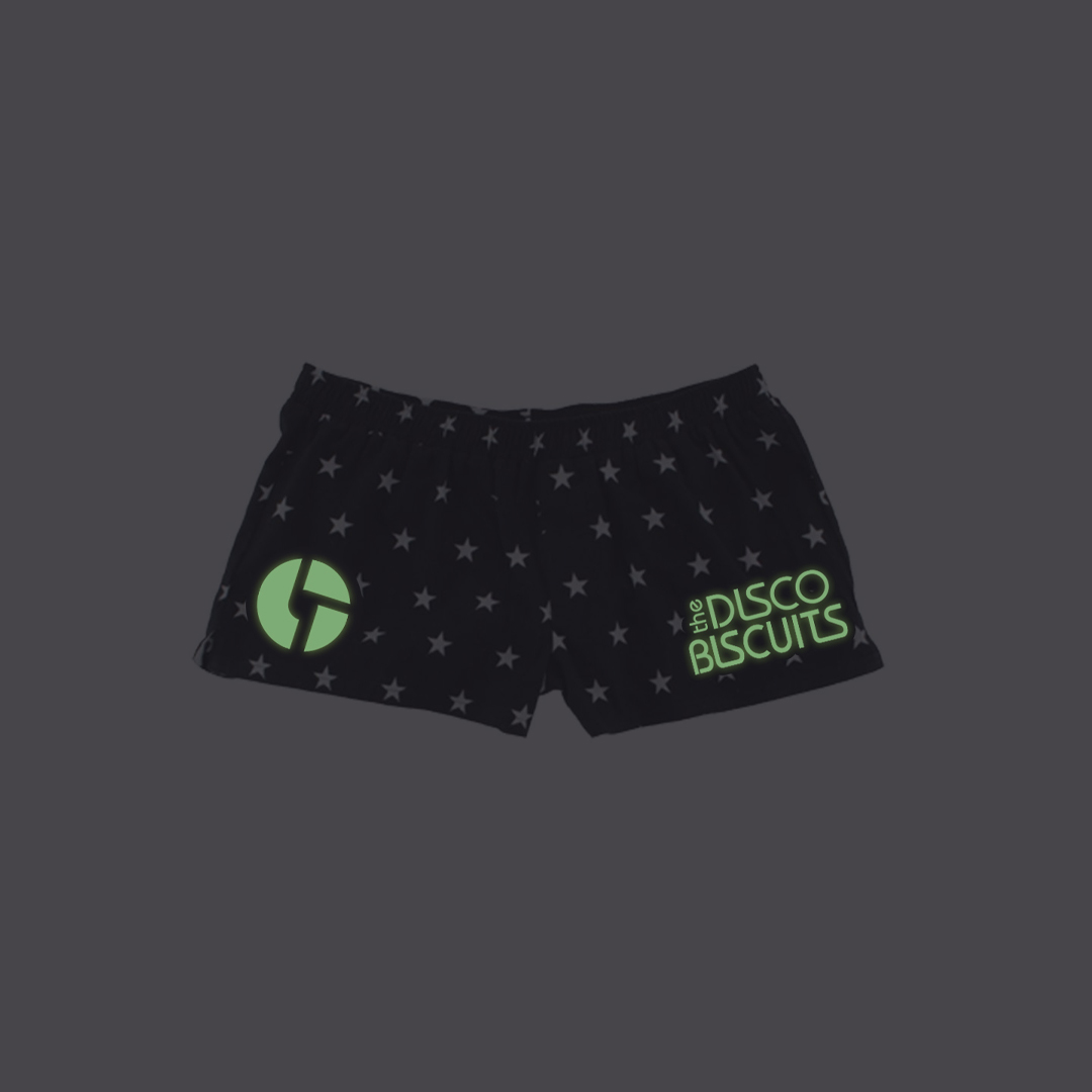 Stars Glow in the Dark Pajama Shorts GID