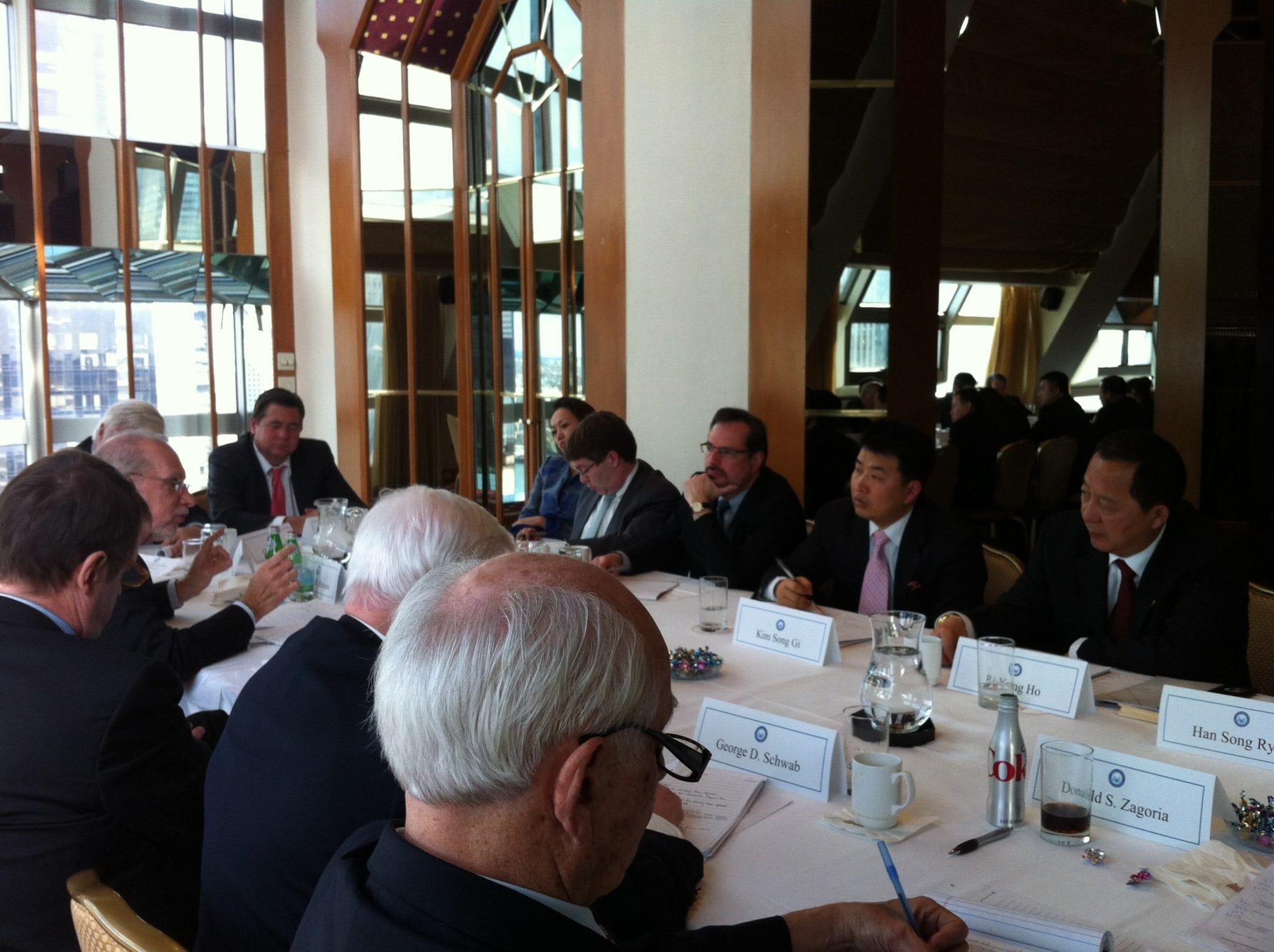 NCAFP Meets with DPRK