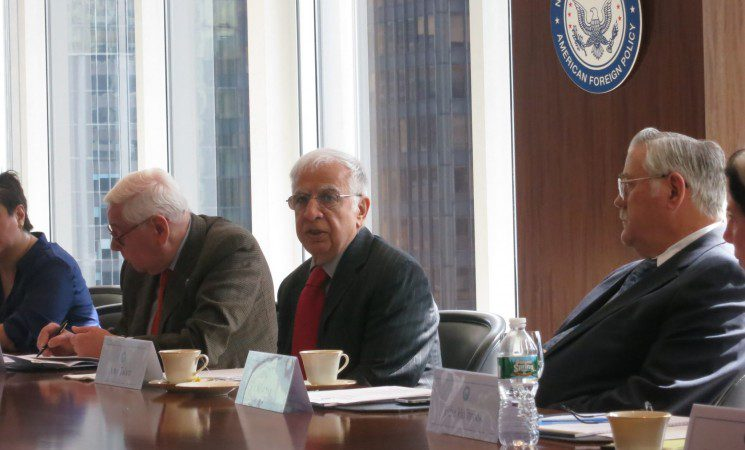 Middle East at Crossroads Roundtable Transcript