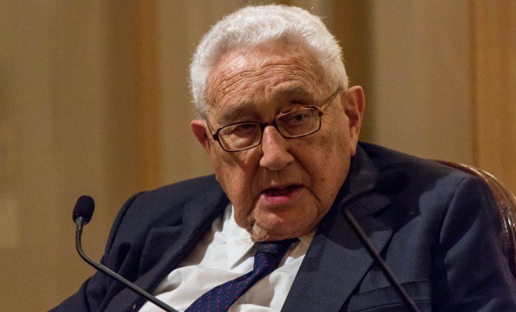 Dr. Henry A. Kissinger at an NCAFP Luncheon