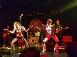 Mother Feather at the Knitting Factory - photo by Sandi Atkinson