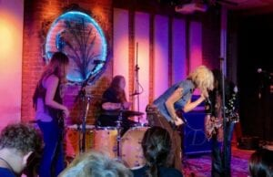 Lez Zeppelin performs at Hawks and Reed in Greenfield, MA - photo by Kelly D