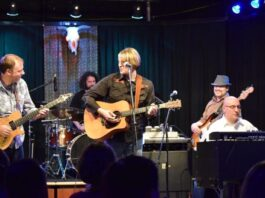 Boston roots rock band Jo Henley performing