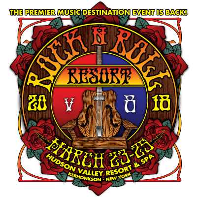"Rock n Roll Resort v8 :: ""The Grateful Escape"" :: March 23-25, 2018"